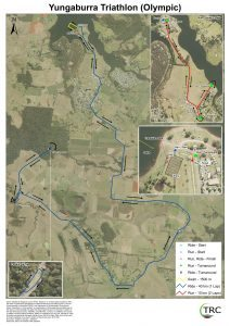 Yungaburra Triathlon Olympic Course 2017